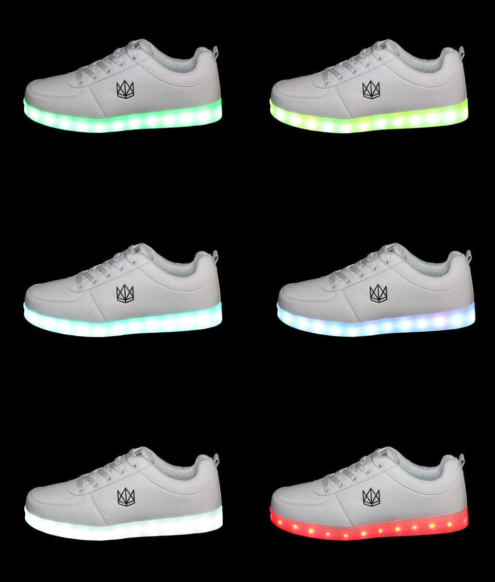 best sneakers fe771 6815b Classic White LED Schuhe